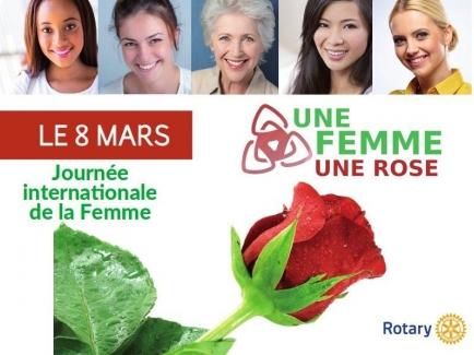 """Opération """"une Femme, une Rose"""""""
