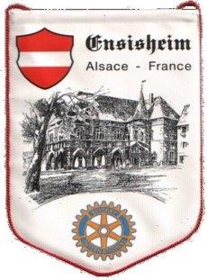 Fanion du RCE|ROTARY Club d'Ensisheim
